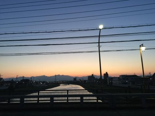 散歩 海蔵川