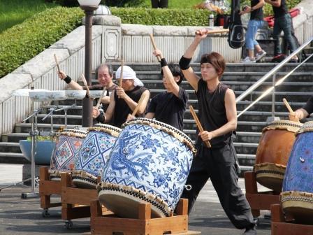 有田磁器太鼓2〈2016-07-30)