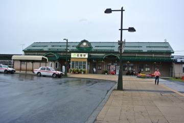 堂々たる駅舎