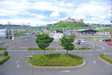 鹿島神宮駅前風景