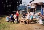 家族で震災後の収穫