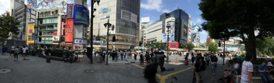 渋谷交差点パノラマ