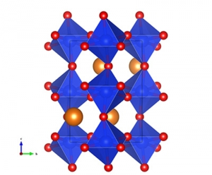 Bridgmanite crystal structure