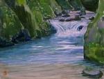 南秋川の滝