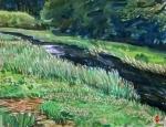 初秋の成木川