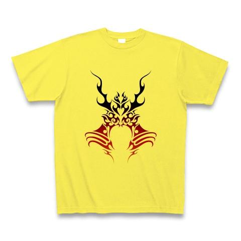 兜トライバル Ver 燃える魂 Tシャツ