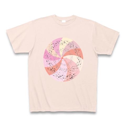 精子スパイラル Tシャツ