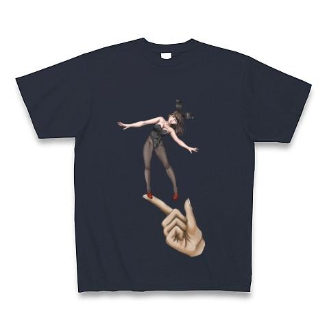 手乗りバニーガール Tシャツ