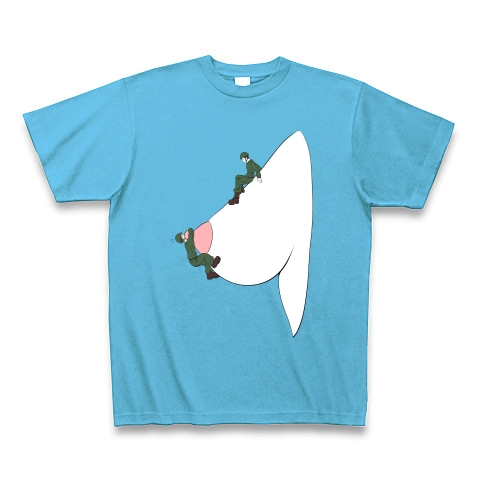 <おっぱい登山シリーズ>危険な滑り台 Tシャツ