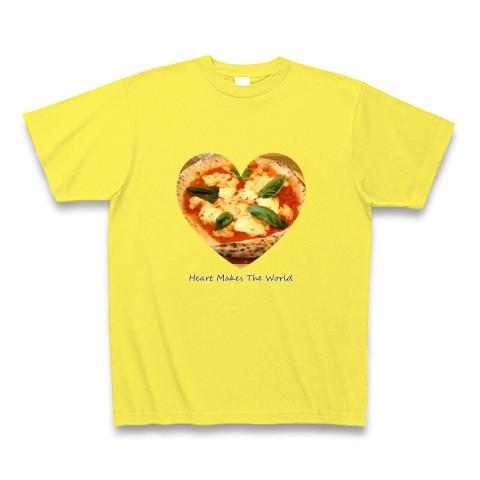 ピザ(マルゲリータ)ハート 02 Tシャツ