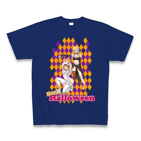セクシーなコスプレ美女 ハロウィンバージョン Tシャツ