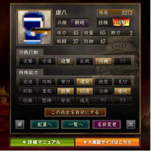 <鉄砲>康八