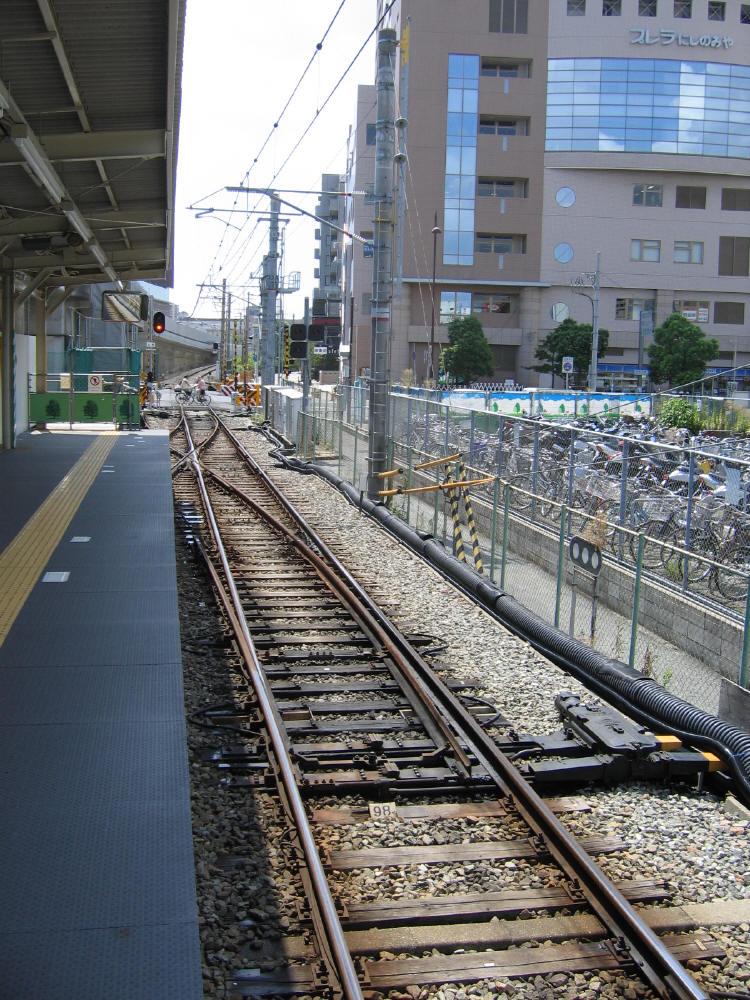 阪急 西宮北口2 - 鉄道線路配置...
