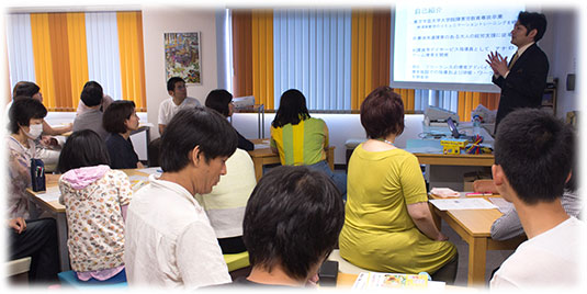 2016-07-02-松本さん療育講座3-講演風景-w535