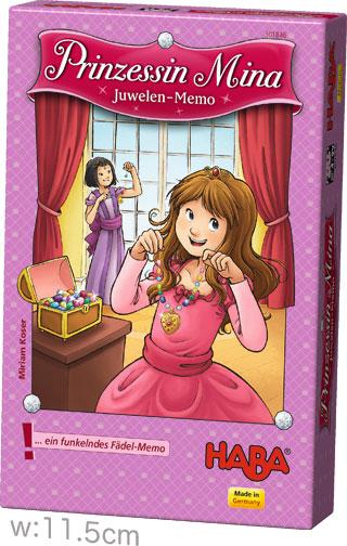 プリンセス・ミーナのキラキラ首飾り:箱
