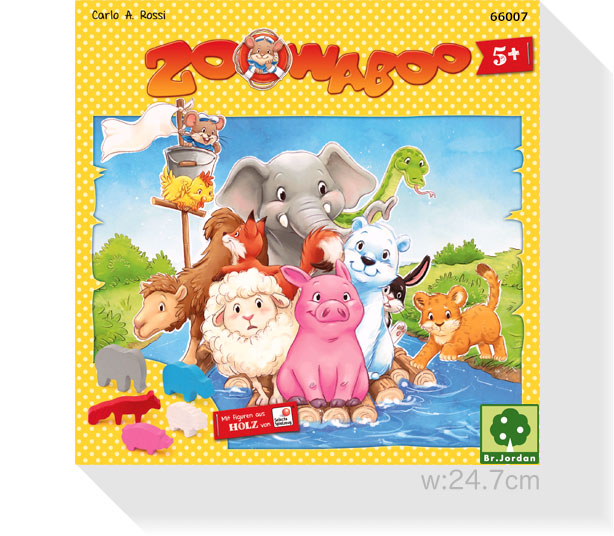 イカダ動物園(2015年版日本流通仕様):箱