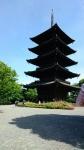 東寺 五重塔1