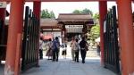 上賀茂神社 門