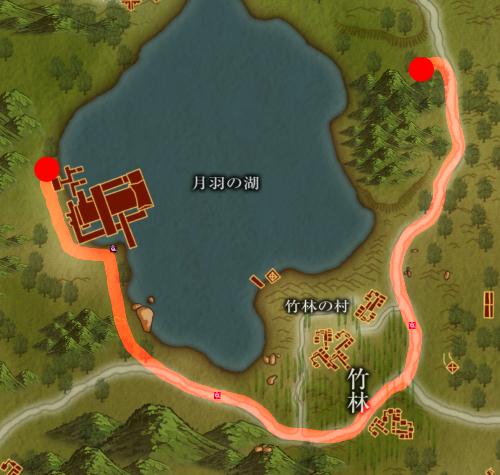 巡回・竹林の村(片道約13分20秒)
