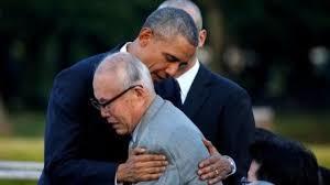 オバマと被爆者
