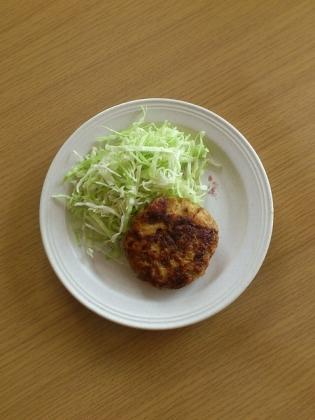 鶏ムネ豆腐ハンバーグ