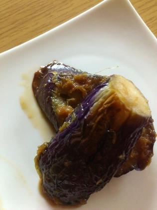 茄子の生姜焼き1