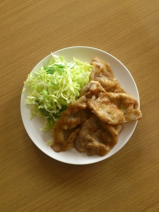 豚ロース生姜焼1