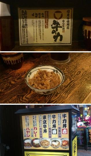 東京牛丼牛の力、東京牛丼3