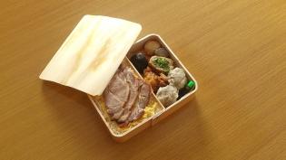 尾島商店、濱吟焼豚弁当4