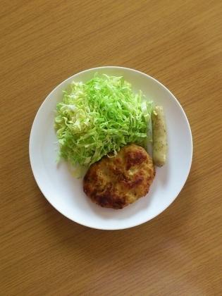 鶏豆腐ハンバーグ
