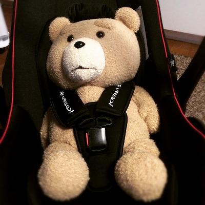 TED テッド チャイルドシート 西松屋