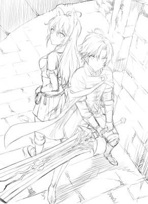 チート魔法剣士2ラフ