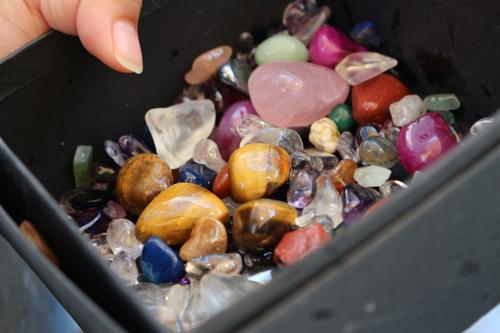 甲斐水晶 宝石ひろい 拾った水晶
