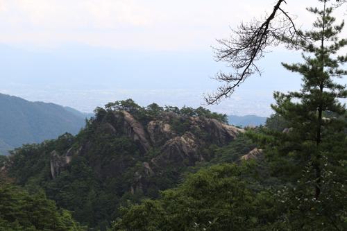 昇仙峡ロープウエイ 山頂からの眺め