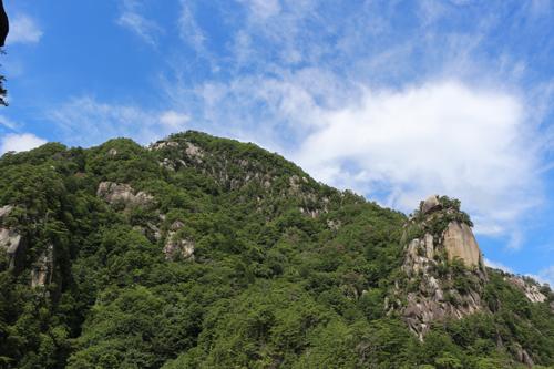 昇仙峡のシンボル 覚円峰 (2)
