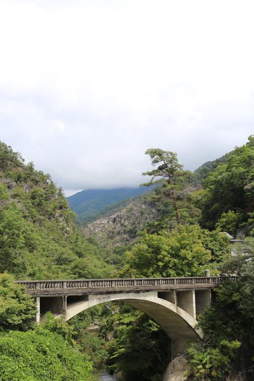 昇仙峡の玄関口 長瀞橋 (3)