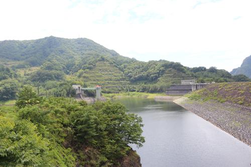 荒川ダム湖畔 大黒屋 9月3日撮影 (3)