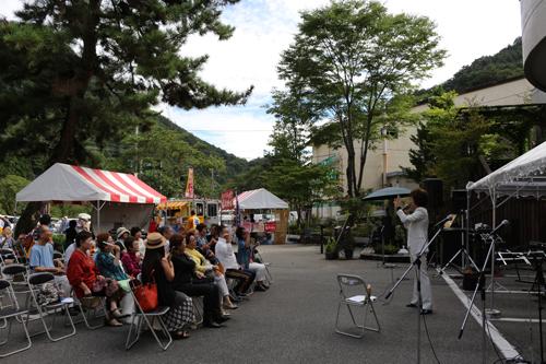 第1回昇仙峡水晶祭り吉水しげる 歌謡ショー