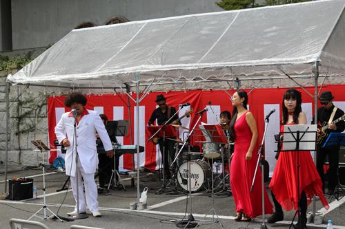 第1回昇仙峡水晶祭り ダイナマイトサムバンド ライブ公演1