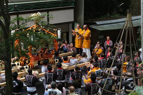 第1回昇仙峡水晶祭り