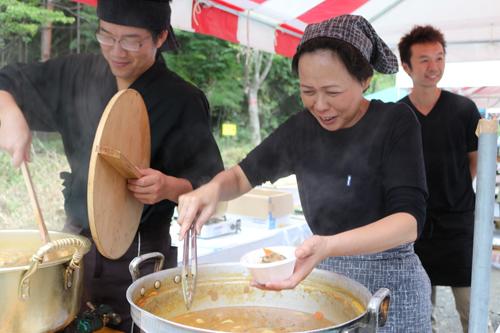 昇仙峡ほうとう祭り円右衛門 (2)