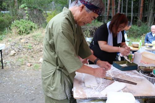 昇仙峡ほうとう祭り藤原庵 (2)
