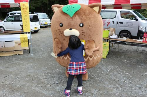 第7回昇仙峡ほうとう祭り  やはたいぬ (2)