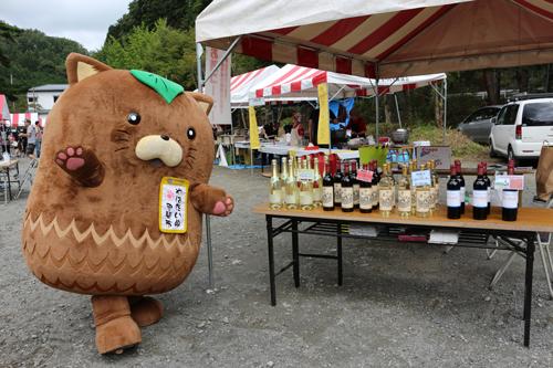 第7回昇仙峡ほうとう祭り  やはたいぬ (4)