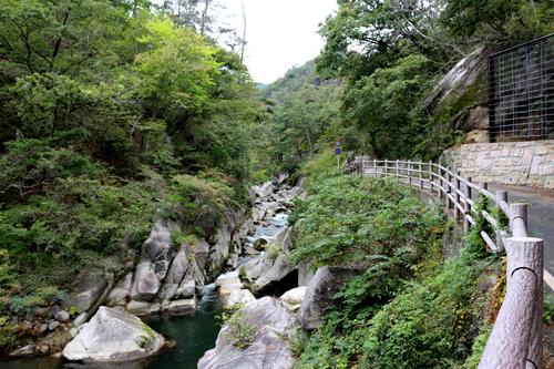 昇仙峡 渓谷道20161010撮影 (7)