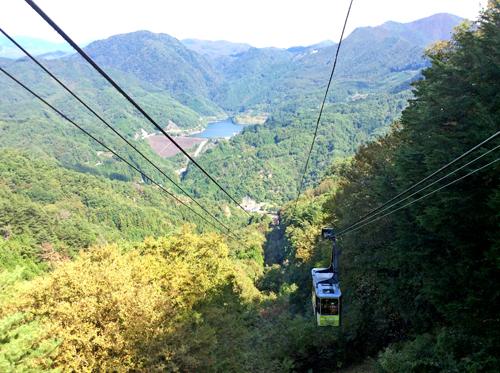201210116昇仙峡ロープウェイ 山頂パノラマ台駅からの眺め (1)