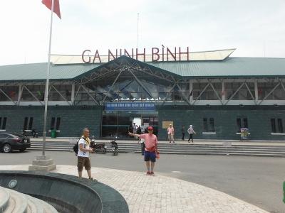 ニンビン駅3