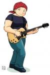 モップ。ギター。