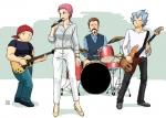 グリーンアース軍バンド。