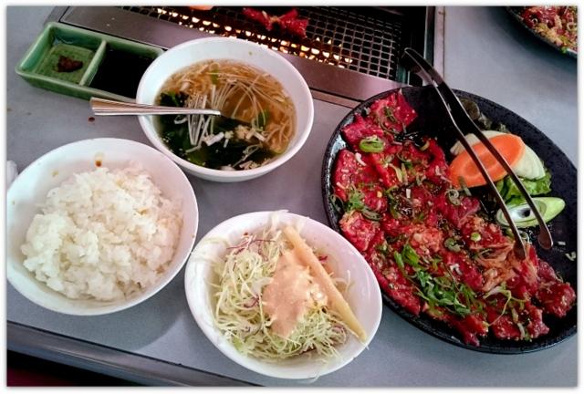 青森県 青森市 赤い唐辛子 ランチ グルメ 焼き肉